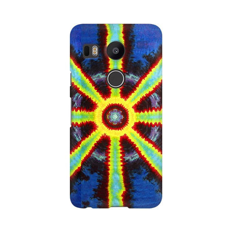 Tie & Die Pattern Google Nexus 5X Phone Cover