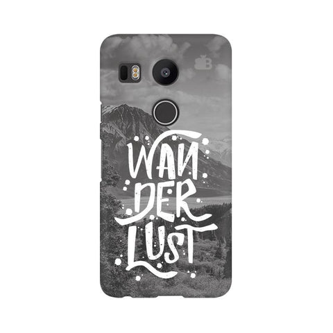 Wanderlust Google Nexus 5X Phone Cover