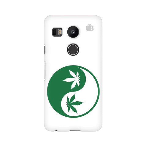 Weed Yin Yang Google Nexus 5X Phone Cover