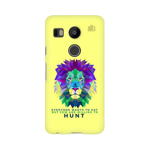 Willing to Hunt Google Nexus 5X Phone Cover