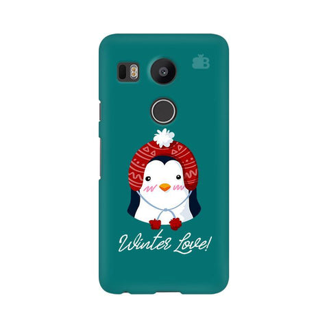 Winter Love Google Nexus 5X Phone Cover