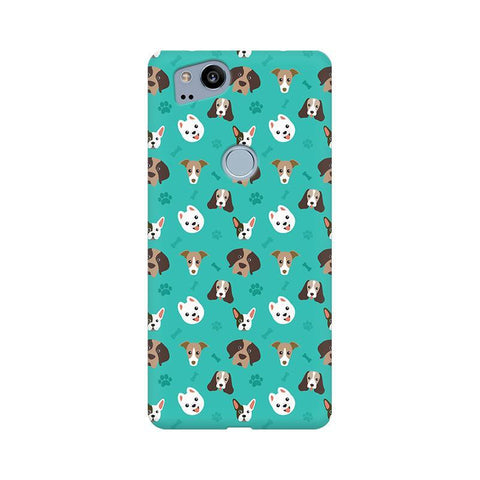 Doggie Pattern Google Pixel 2 Phone Cover