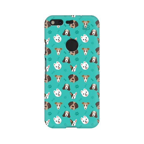 Doggie Pattern Google Pixel Phone Cover