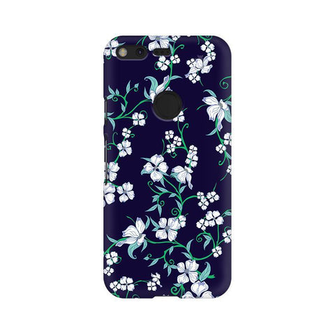 Dogwood Floral Pattern Google Pixel Phone Cover