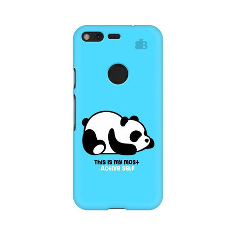 Most Active Panda Google Pixel Phone Cover