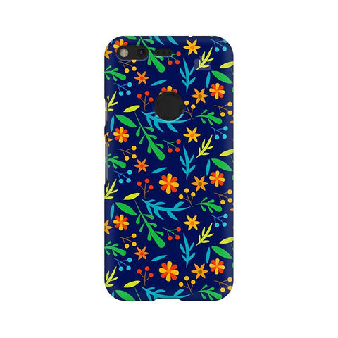 Vibrant Floral Pattern Google Pixel Phone Cover