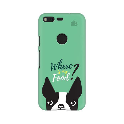 Where is my Food Google Pixel Phone Cover