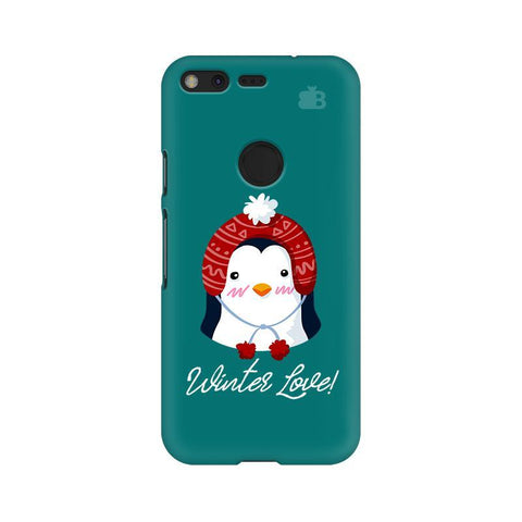 Winter Love Google Pixel Phone Cover