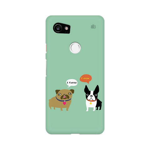 Cute Dog Buddies Google Pixel XL 2 Phone Cover