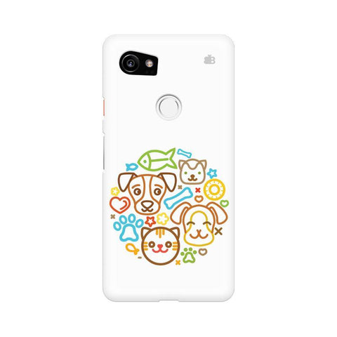 Cute Pets Google Pixel XL 2 Phone Cover