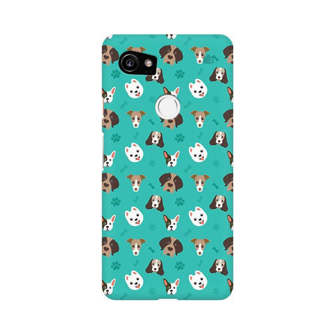 Doggie Pattern Google Pixel XL 2 Phone Cover