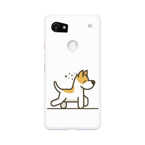 Happy Puppy Google Pixel XL 2 Phone Cover