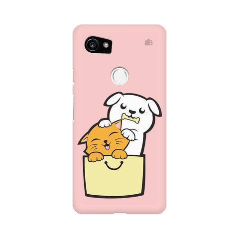 Kitty Puppy Buddies Google Pixel XL 2 Phone Cover