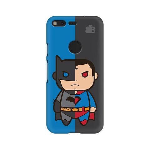 Cute Superheroes Annoyed Google Pixel XL Phone Cover