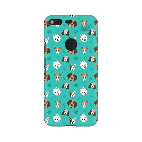 Doggie Pattern Google Pixel XL Phone Cover
