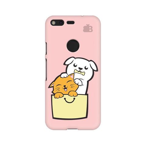 Kitty Puppy Buddies Google Pixel XL Phone Cover
