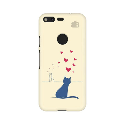 Kitty in Love Google Pixel XL Phone Cover