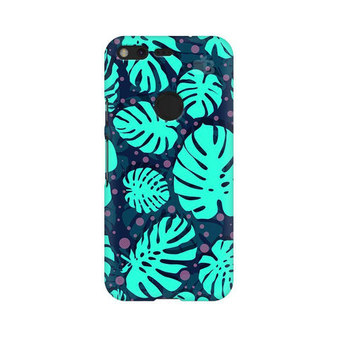 Tropical Leaves Pattern Google Pixel XL Phone Cover