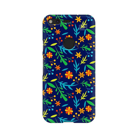 Vibrant Floral Pattern Google Pixel XL Phone Cover