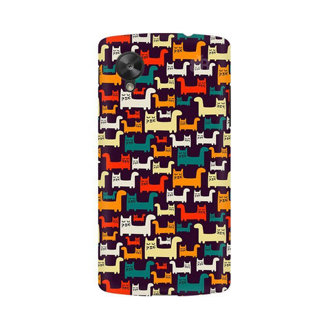 Chill Cats Google  Nexus 5 Phone Cover