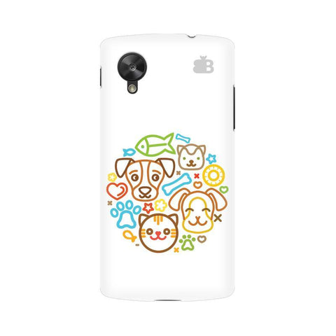 Cute Pets Google  Nexus 5 Phone Cover