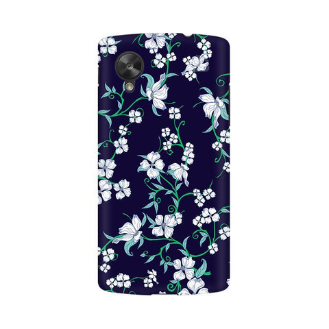 Dogwood Floral Pattern Google  Nexus 5 Phone Cover