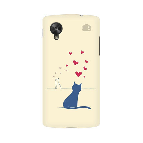 Kitty in Love Google  Nexus 5 Phone Cover