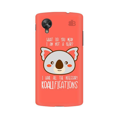 Koalifications Google  Nexus 5 Phone Cover