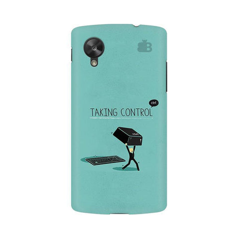 Taking Control Google  Nexus 5 Phone Cover