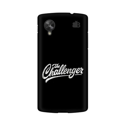 The Challenger Google  Nexus 5 Phone Cover