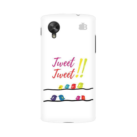 Tweet Tweet Google  Nexus 5 Phone Cover