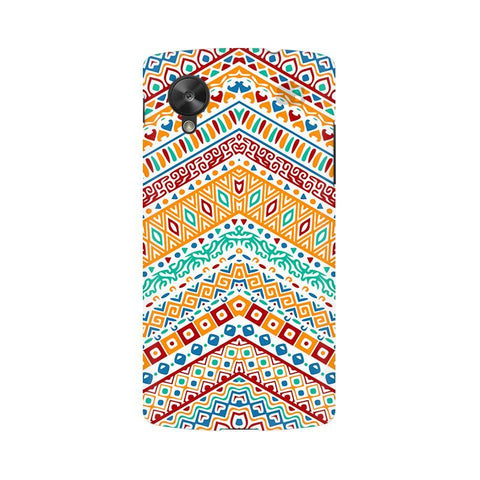 Wavy Ethnic Art Google  Nexus 5 Phone Cover