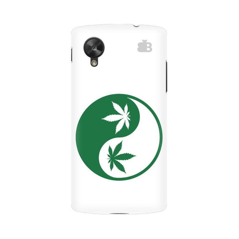 Weed Yin Yang Google  Nexus 5 Phone Cover