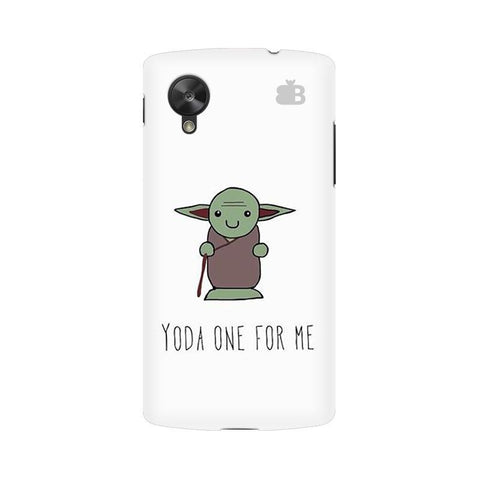 Yoda One Google  Nexus 5 Phone Cover