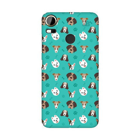 Doggie Pattern HTC 10 Pro Phone Cover