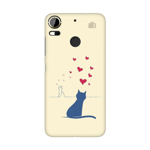 Kitty in Love HTC 10 Pro Phone Cover