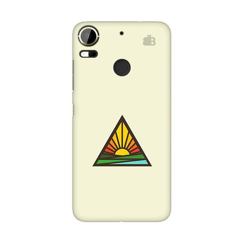 Triangular Sun HTC 10 Pro Phone Cover