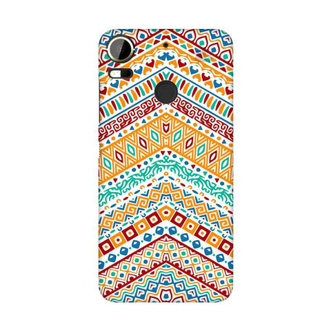 Wavy Ethnic Art HTC 10 Pro Phone Cover