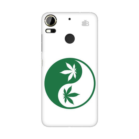 Weed Yin Yang HTC 10 Pro Phone Cover