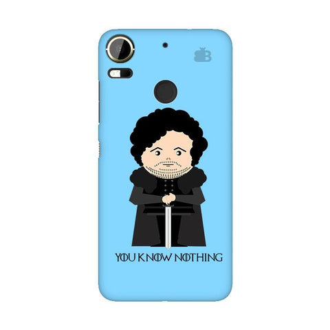 You Know Nothing HTC 10 Pro Phone Cover