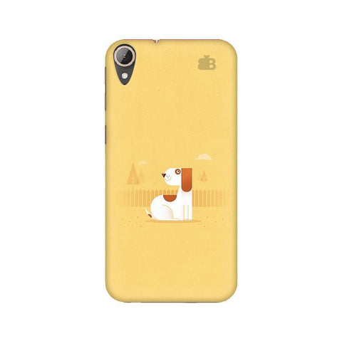 Calm Dog HTC 830 Phone Cover