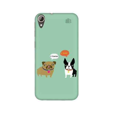Cute Dog Buddies HTC 830 Phone Cover
