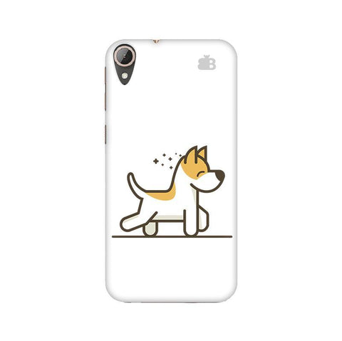 Happy Puppy HTC 830 Phone Cover