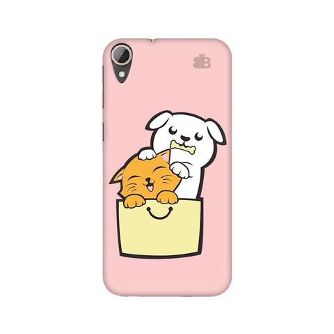 Kitty Puppy Buddies HTC 830 Phone Cover
