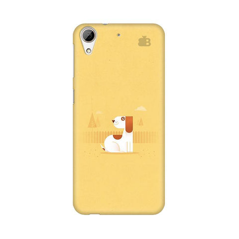 Calm Dog HTC Desire 626 Phone Cover
