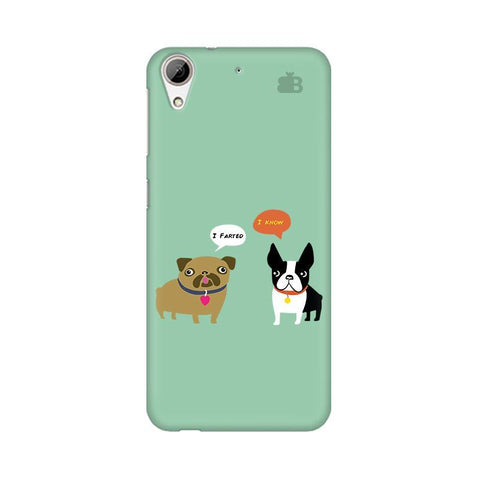 Cute Dog Buddies HTC Desire 626 Phone Cover