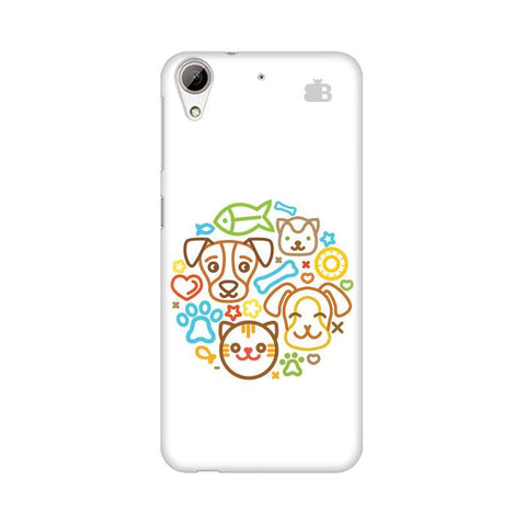 Cute Pets HTC Desire 626 Phone Cover