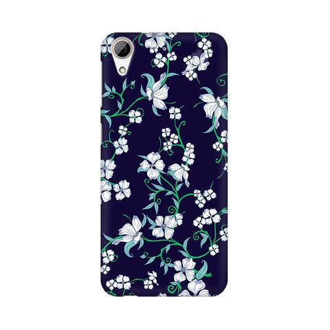 Dogwood Floral Pattern HTC Desire 626 Phone Cover