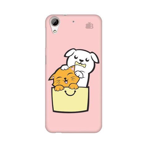 Kitty Puppy Buddies HTC Desire 626 Phone Cover