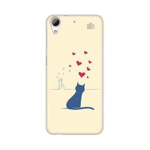 Kitty in Love HTC Desire 626 Phone Cover